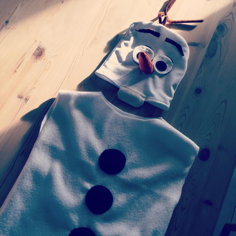 Olaf kostume fastelavn
