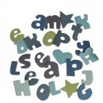 Udklip - Sebra bogstaver