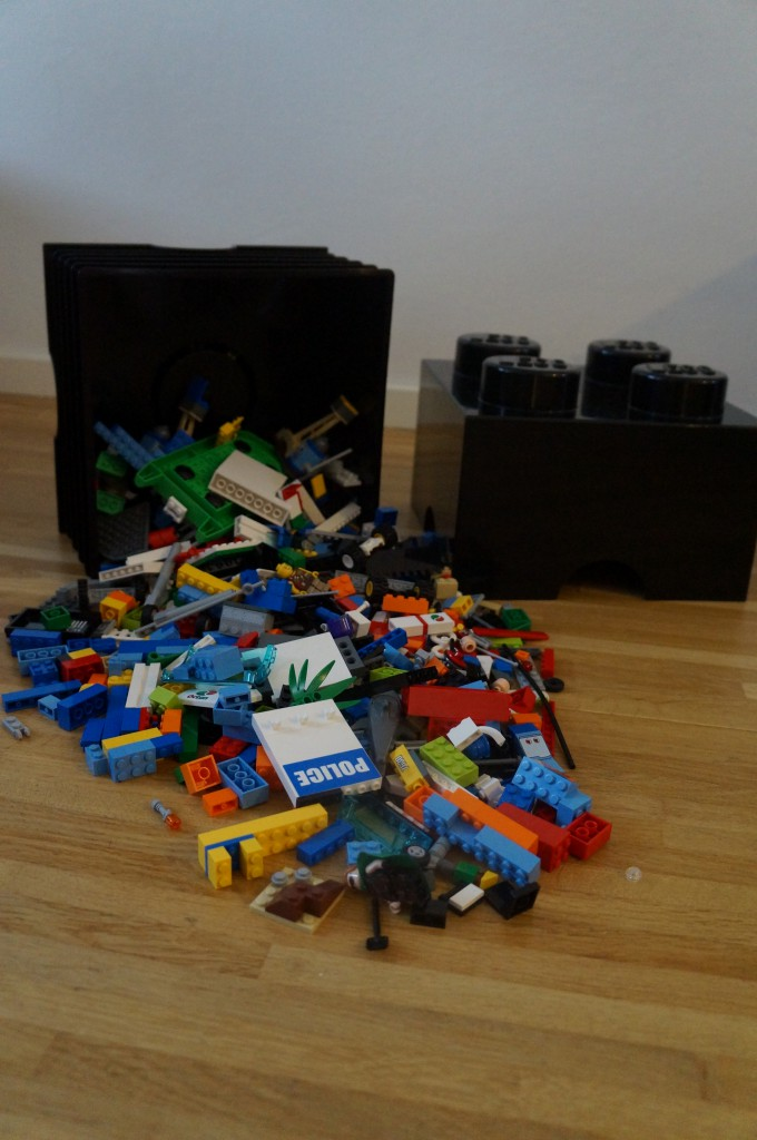 Så meget kan kassen, uden problemer indeholde