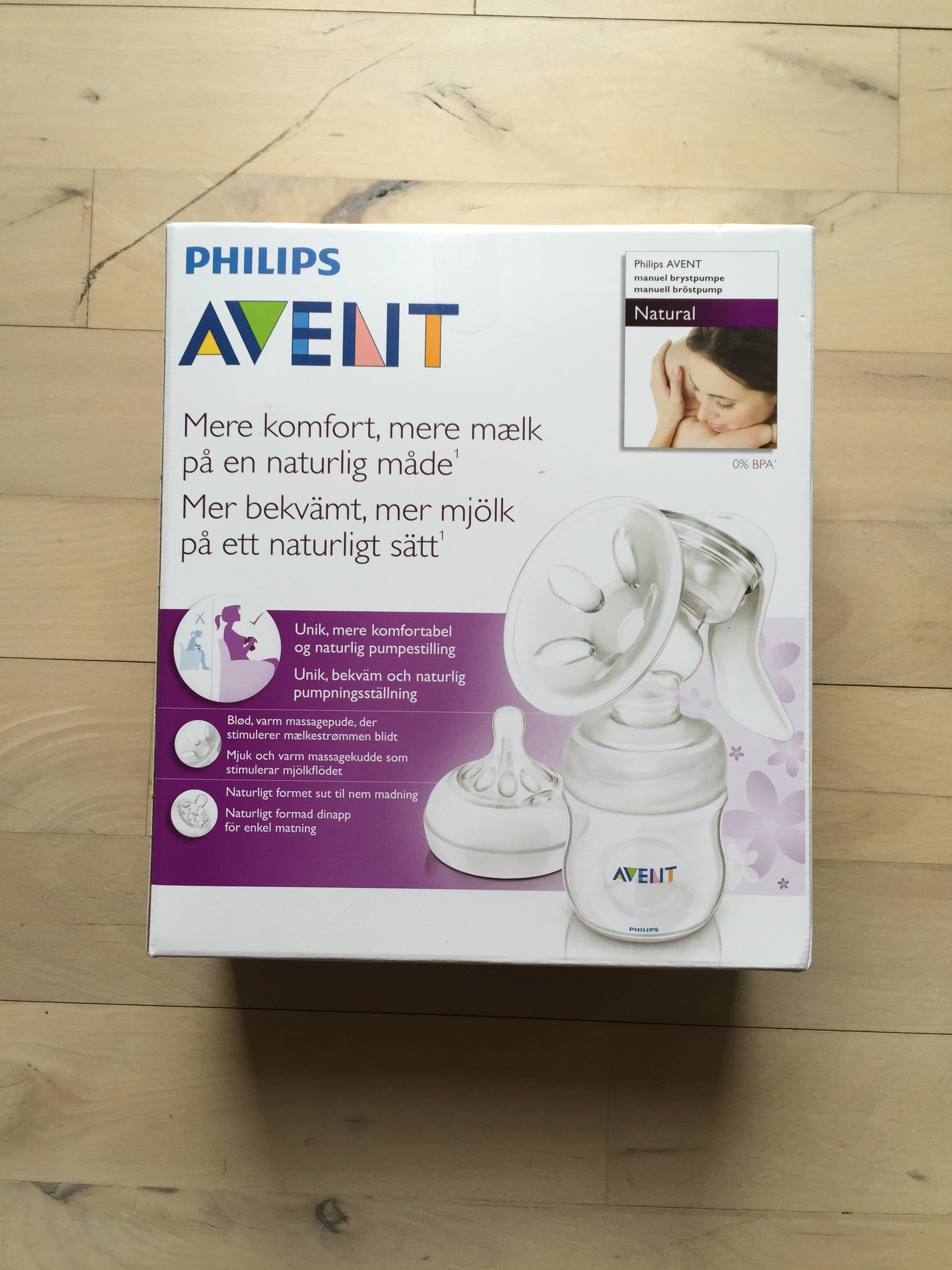 philips avent brystpumpe test