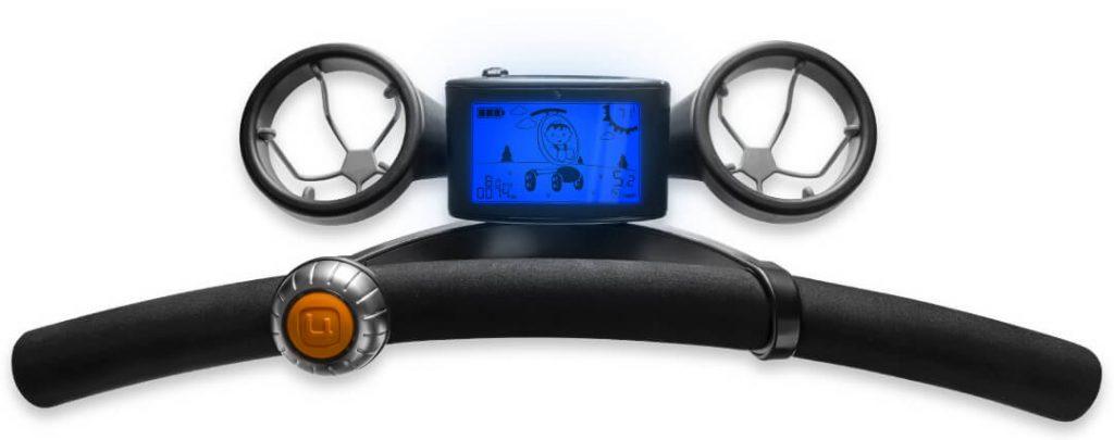 4moms - LCD betjeningspanel med termometer, hastighedsmåler og kilometertæller