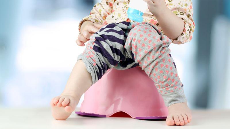 Pottetræning skal være en positiv oplevelse for barnet, så barnet er tryg