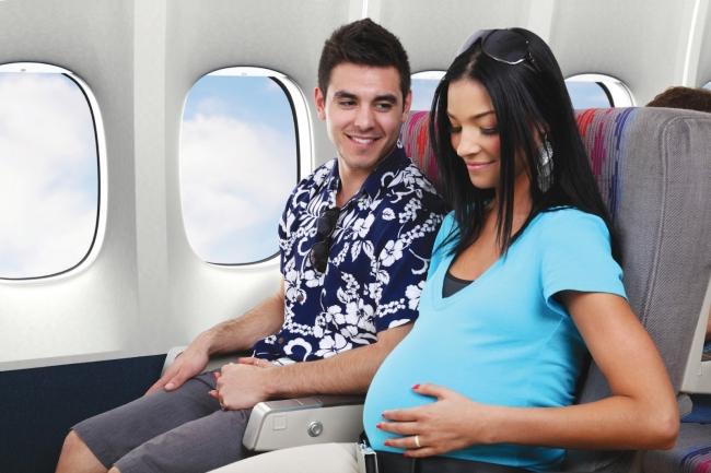 Er flyveture sikkert når man er gravid? Ja lyder svaret