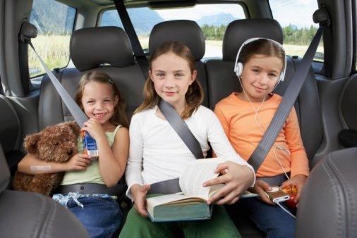 Børn har også godt af at kede sig en gang imellem. Bilturen vil hjælpe jer til at slappe af