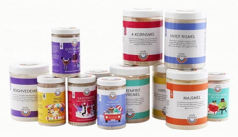 Stort udvalg af lækre produkter fra Smily Rainbow