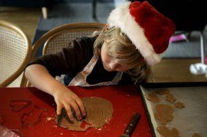 julekalender pixizoo julebagning med børn