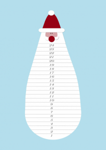 kreativ med ungerne klip skægget af pixizoo julekalender
