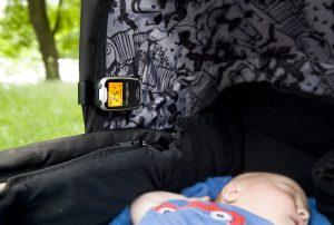 babyalarm i barnevogn
