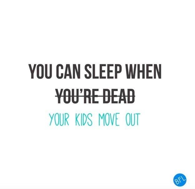 du kan sove når børnene er flyttet hjemmefra