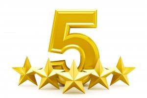 5 ud af 5 stjerner