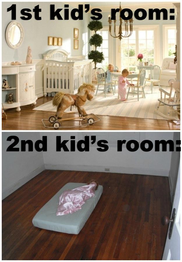 børneværelse første barn og andet barn