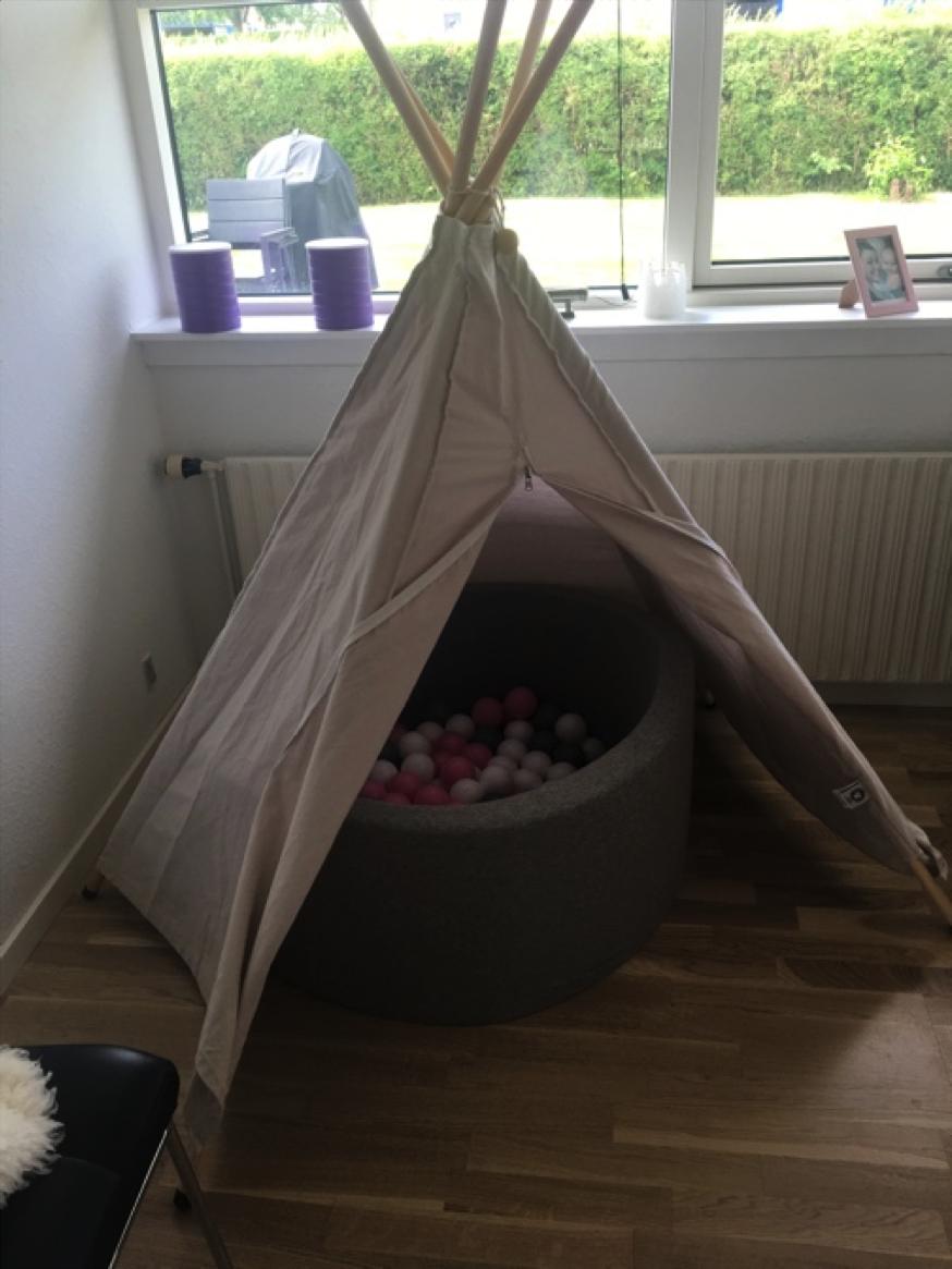 Rørig Produktanmeldelse: Roommate Hippie Tipi telt - Pixizoo Magasin XY-79