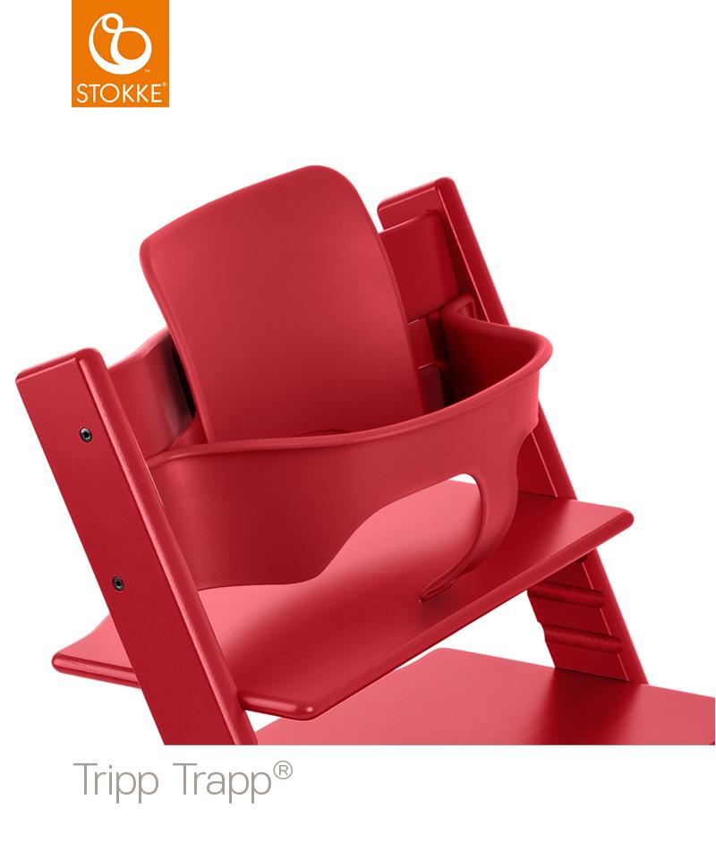 Stokke Tripp Trapp Babyset - Röd