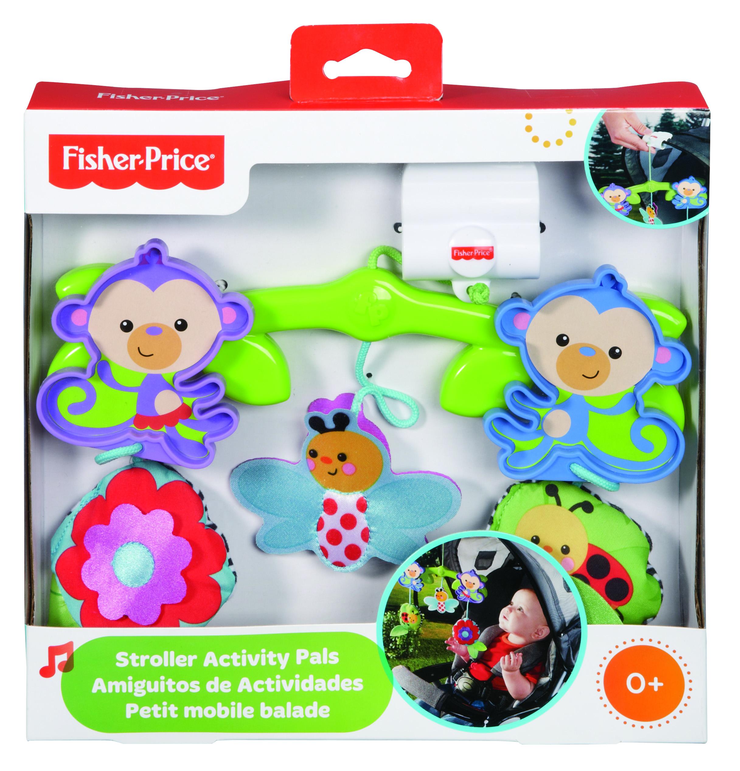 Fisher price – Fisher price legetøj til klapvogn, 1 stk. på lager fra pixizoo
