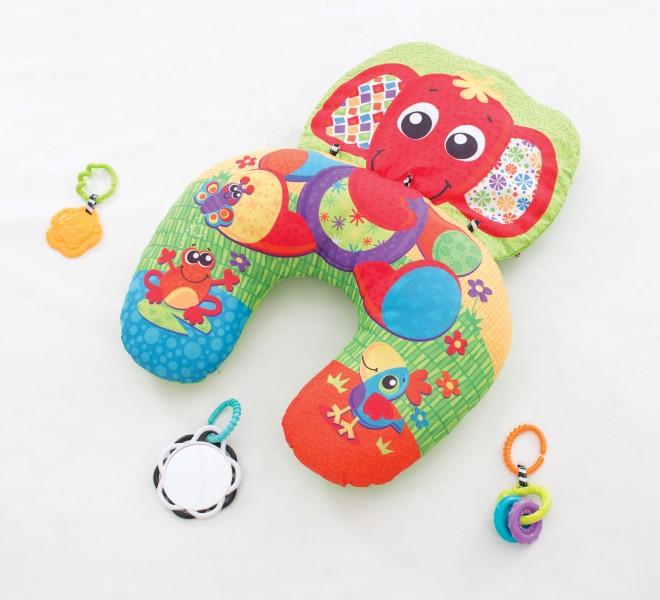 Playgro Playgro elefant aktivitetspude, 2 stk. på lager på pixizoo