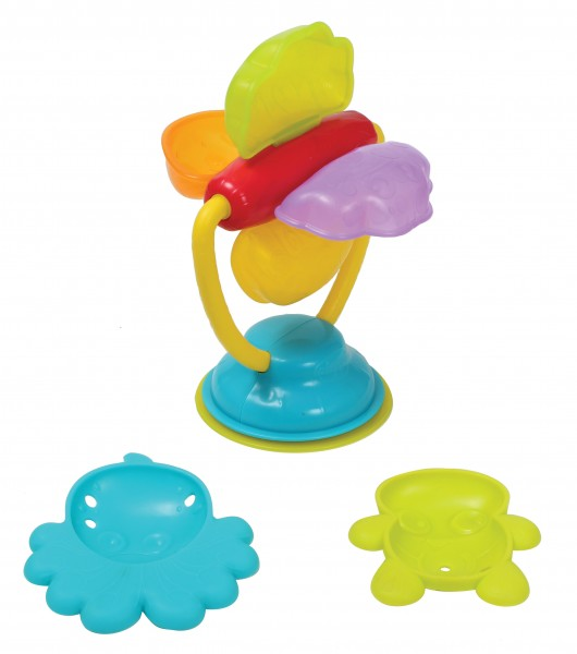 Playgro – Playgro deluxe spinning bath wheel, 6 stk. på lager på pixizoo