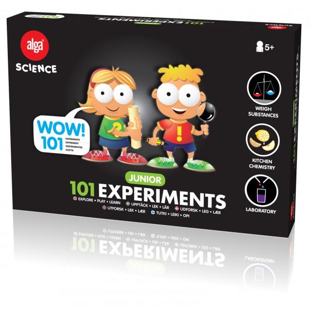 Alga science 101 eksperimenter, 3 stk. på lager fra Alga på pixizoo