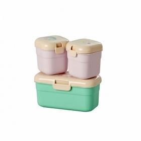 Rice Mini Matlåda Djur 3-pack