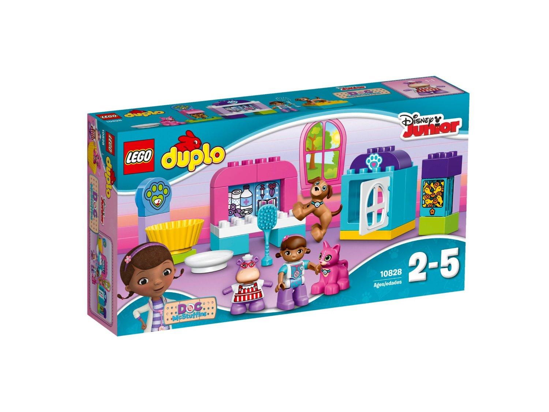 Lego duplo – Lego duplo - doc mcstuffins pet vet care, 4 stk. på lager fra pixizoo