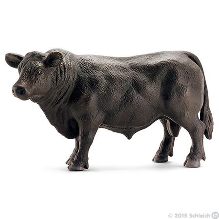 Schleich – Schleich - black angus tyr, 3 stk. på lager på pixizoo