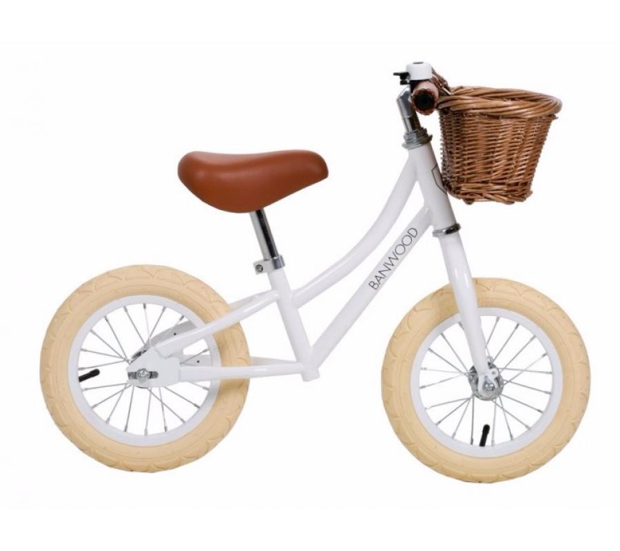 Banwood First Go Balance Bike Springcykel - White