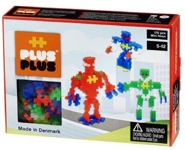 Plus Plus Mini Neon 170 Robots