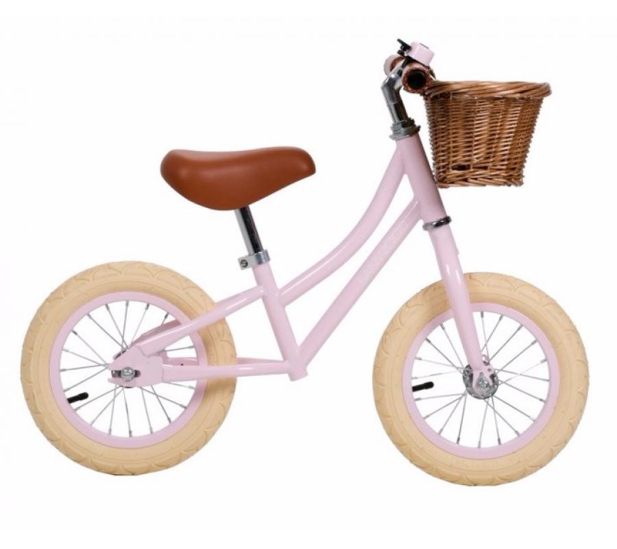 Banwood First Go Balance Bike Springcykel - Pink