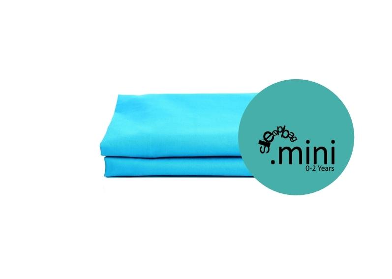 Sleepbag.mini Lakan 2-pack - Blå