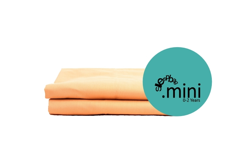 Sleepbag.mini Lakan 2-pack - Ljusbrun
