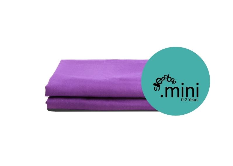 Sleepbag.mini Lakan 2-pack - Lila