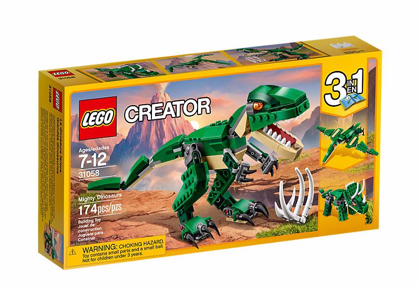 LEGO Creator (31058) Mäktiga Dinosaurier