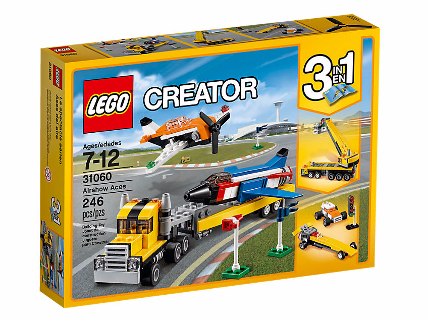 LEGO Creator (31066) Flygshowens Ess