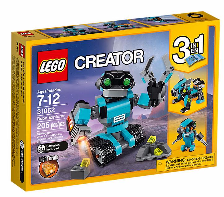 LEGO Creator (31062) Utforskarrobot