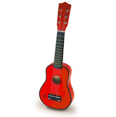 Vilac Gitarr - Röd