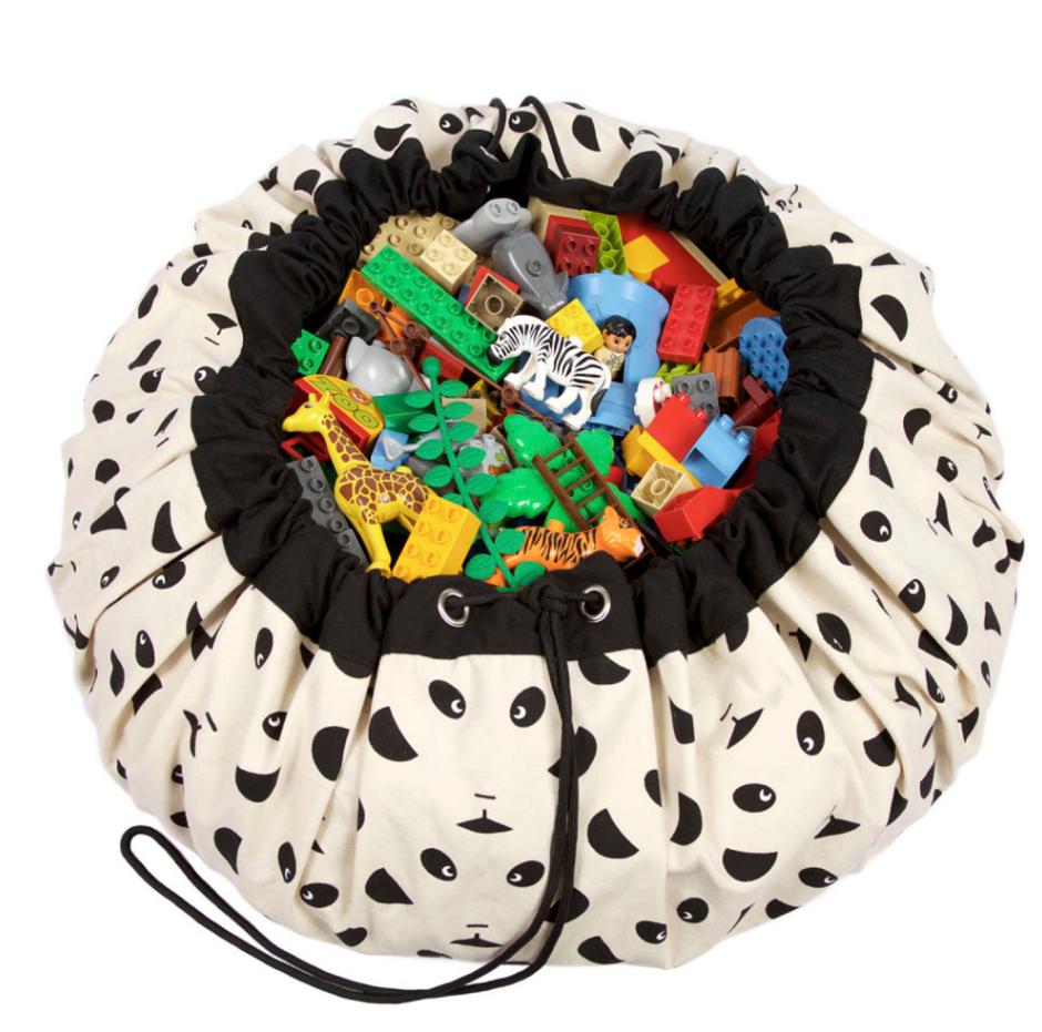 Play&Go Lekmatta Förvaringspåse - Panda