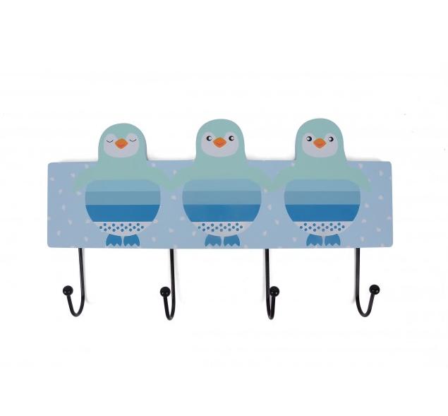 Magni Kroklist Pingvin - Blå