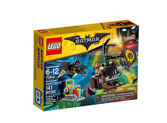 LEGO Batman Movie Scarecrow Skrämmande Uppgörelse