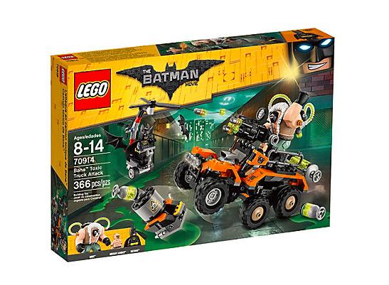 LEGO Batman Movie Bane Giftangrepp Med Lastbil