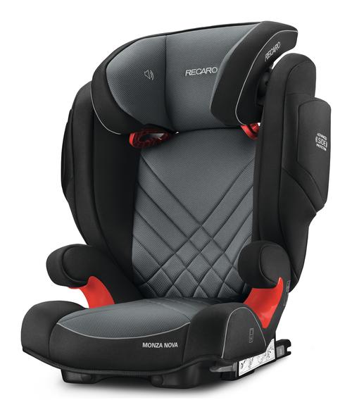 Recaro – Recaro monza nova 2 seatfix autostol - carbon sort/grå (til isofix montering), 8 stk. på lager på pixizoo