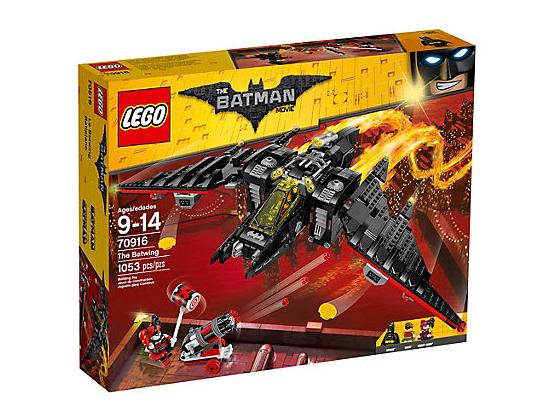 LEGO Batman Movie Batvingen - Svart