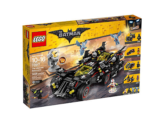 LEGO Batman Movie Den Ultimata Batmobilen - Svart