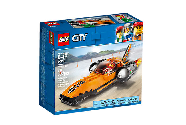 LEGO City Rekordsnabb bil