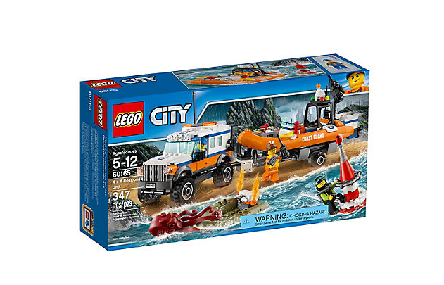 LEGO City Fyrhjulsdrivet Utryckningsfordon
