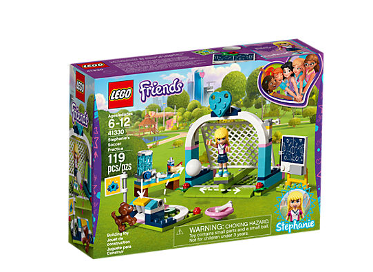 LEGO Friends Stephanies Fotbollsträning