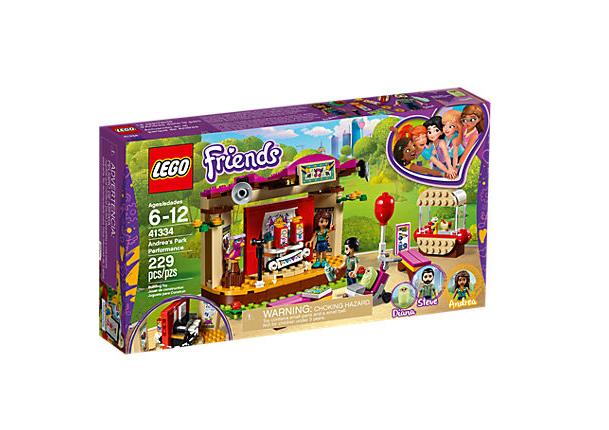 LEGO Friends Andreas Parkframträdande