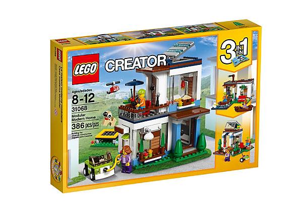 LEGO Creator - Modulset: Moderna hem