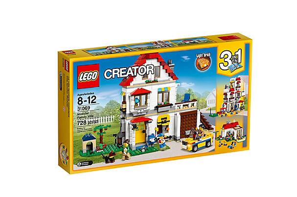 LEGO Creator - Modulset: Familjevilla