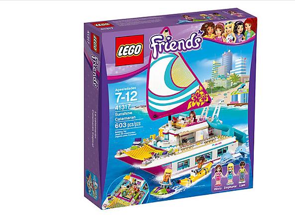 LEGO Friends Solskenskatamaran