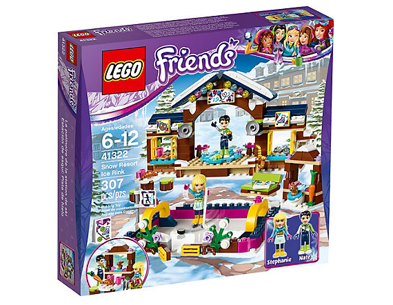 LEGO Friends Vinterresort Skridskobana