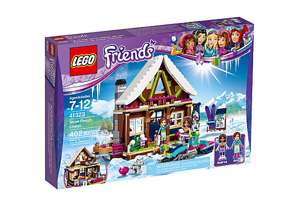 LEGO Friends Vinterresort Stuga